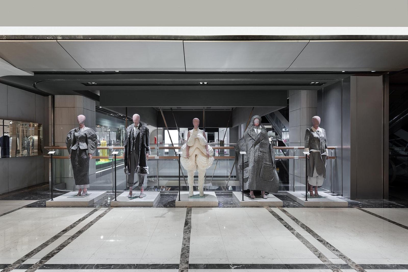 9m88 與 ØZI 現身 ART HAUS 內 Thom Browne 期間限定概念店