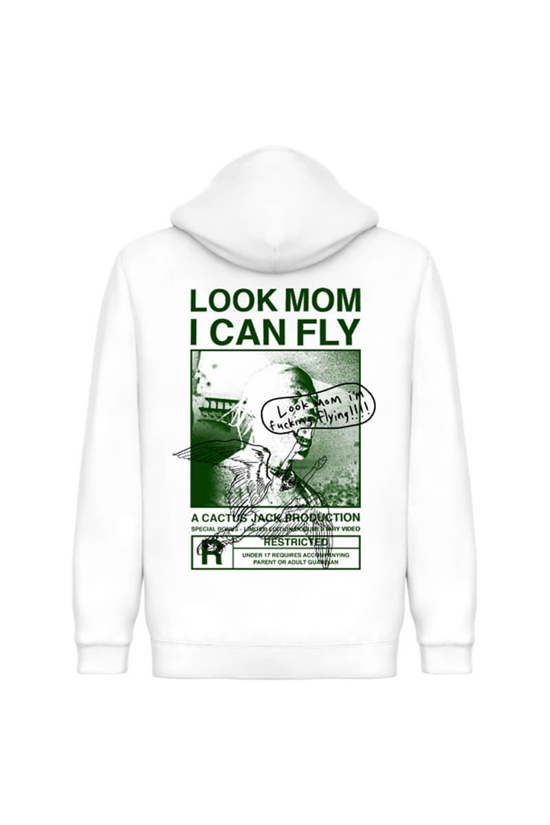 《Travis Scott: Look Mom I Can Fly》紀錄片推出客製化周邊商品系列