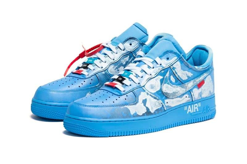 全新限量鞋款 Virgil Abloh x MCA Chicago x Cassius Hirst x Nike Air Force 1 正式開售