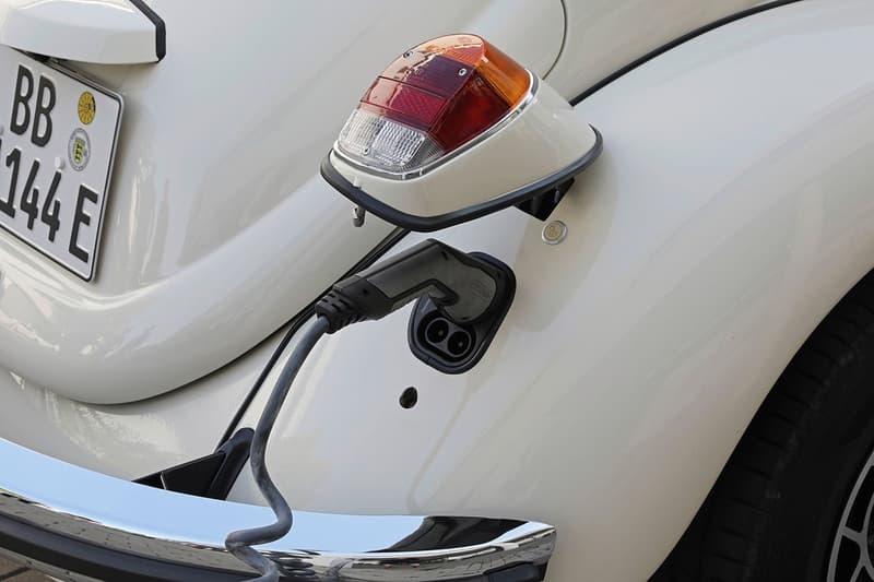 Volkswagen 推出經典甲蟲 Beetle 全新純電動力車型