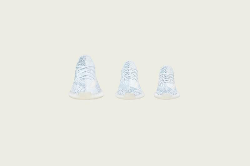 YEEZY BOOST 350 V2「Cloud White」配色香港區發售情報