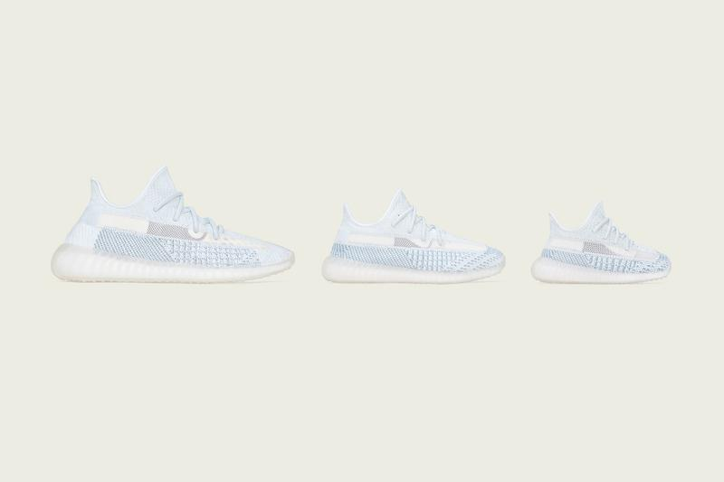 YEEZY BOOST 350 V2「Cloud White」正式發佈