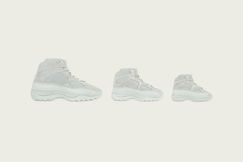 adidas 與 Kanye West 攜手打造之全新鞋款系列 YZY DSRT BT 發售日期公開