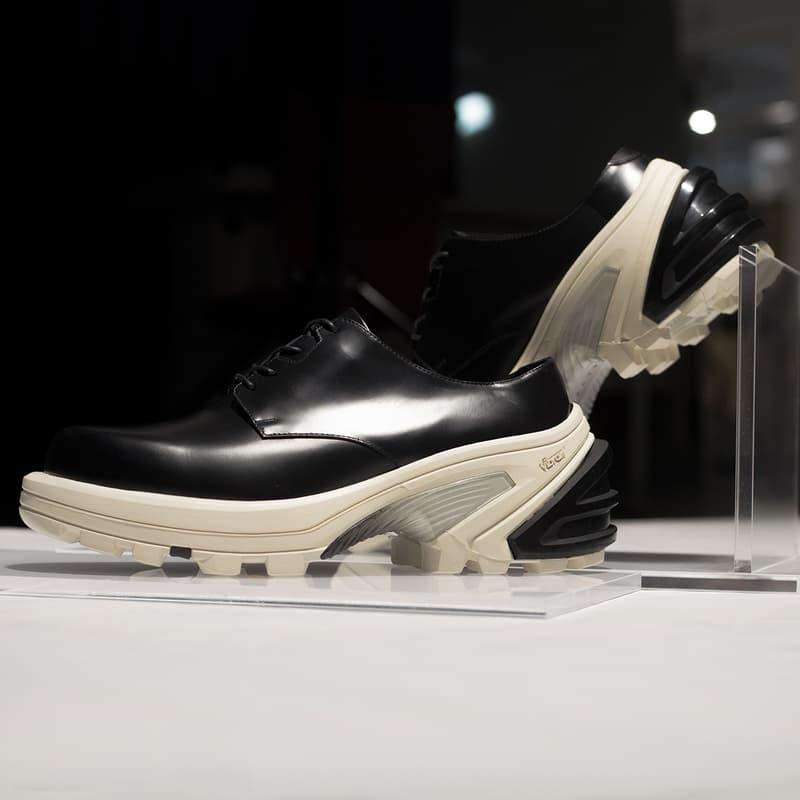 1017 ALYX 9SM 皮革運動鞋獨家登陸 NE.SENSE