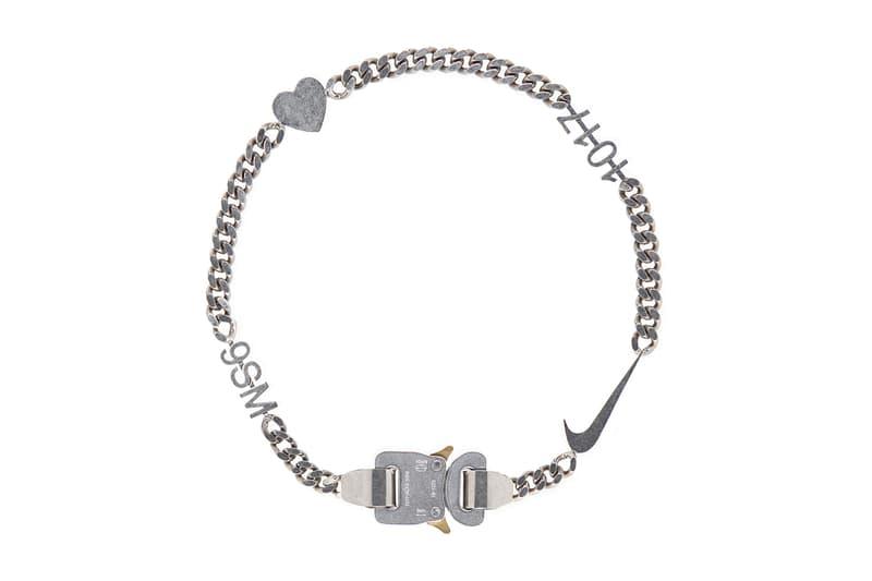 1017 ALYX 9SM 人氣飾品 Swoosh Hero Chain 上架發售