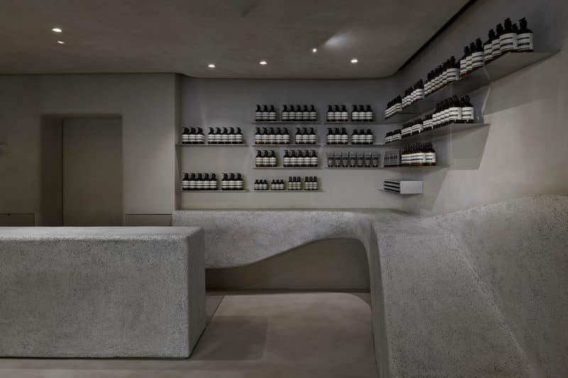港式石材!Aēsop 採用卵石打造全新 Harbour City 門店