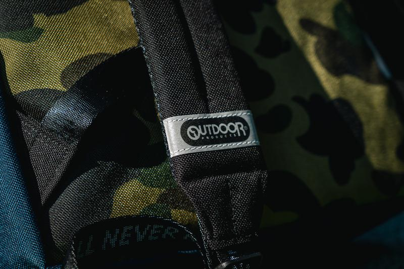 HYPEBEAST 送出 A BATHING APE® x OUTDOOR PRODUCTS包袋