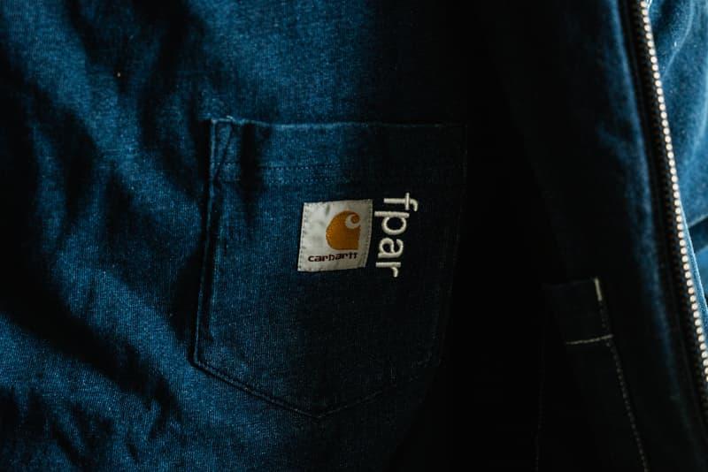 復興 90's-近賞 Carhartt WIP x FPAR 2019 秋冬全新聯乘