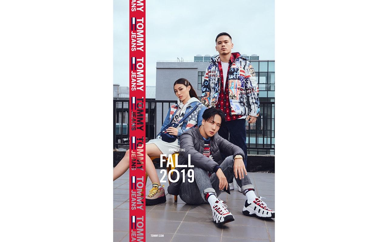 Ravi、T-Pablow 與 Eileen Yo 共同演繹 TOMMY JEANS 2019 秋季系列
