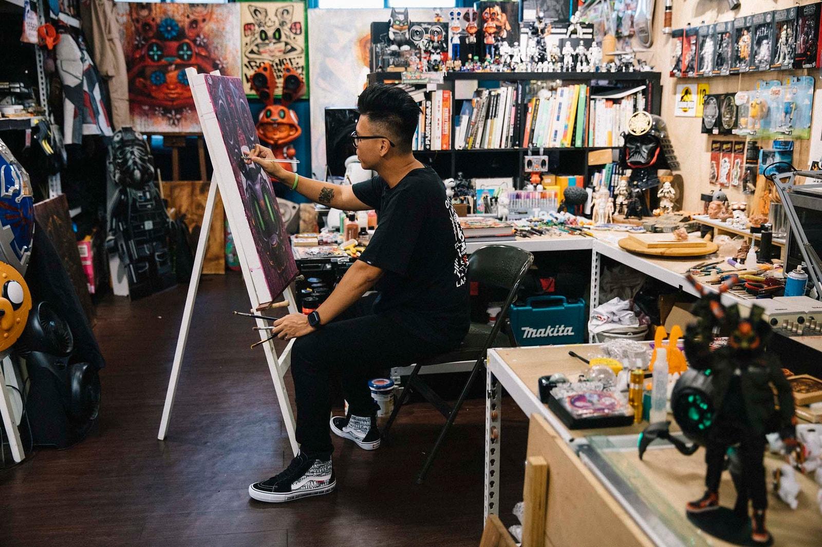 ABC-MART Grand Stage 攜手塗鴉藝術家 BOUNCE 描繪出西門町街頭文化元素