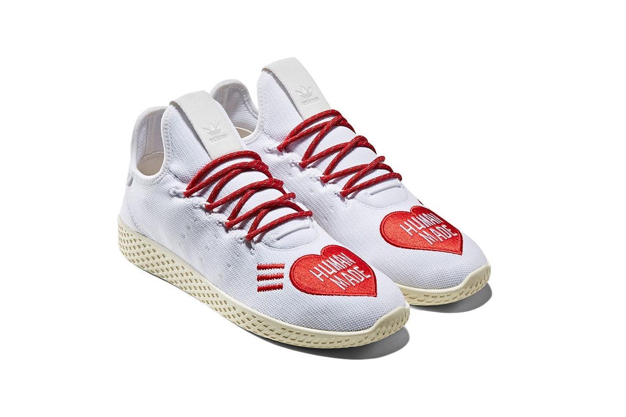 Pharrell 攜手 NIGO 打造三雙 HUMAN MADE x adidas Hu 聯名鞋款