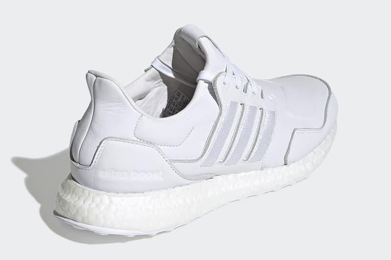 adidas 推出全新皮革面料 UltraBOOST 黑白配色