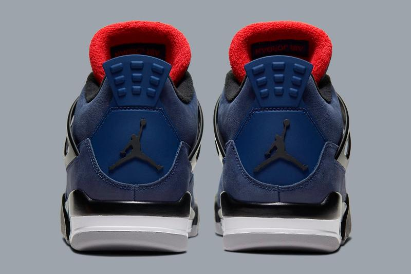Air Jordan 4 Retro WNTR「Loyal Blue」鞋款官方圖輯公開