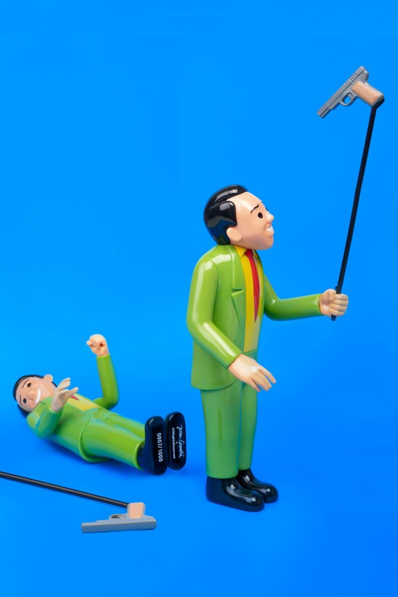 """AllRightsReserved 呈獻-Joan Cornellà 全球首發 10"""" Selfie Gun 搪膠公仔"""