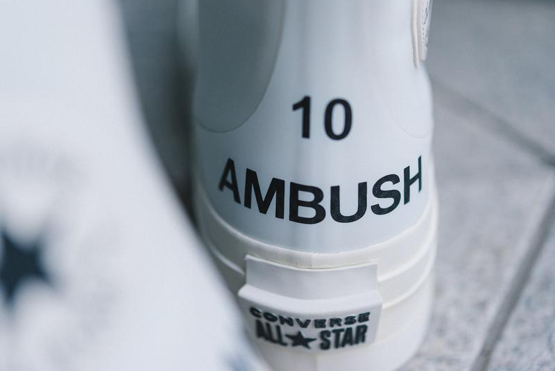 近賞 AMBUSH x Converse Chuck 70 & Pro Leather 全新聯乘鞋款