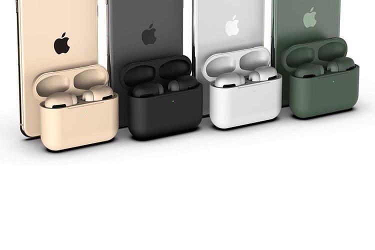空穴來風-據報 Apple AirPods Pro 將以多色配置登場