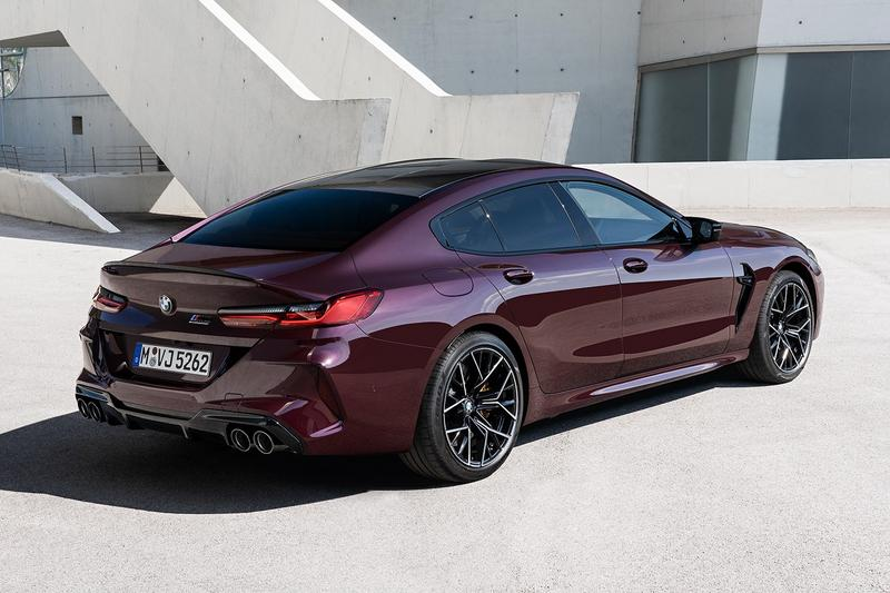 BMW 全新車型 M8 Gran Coupe 發佈