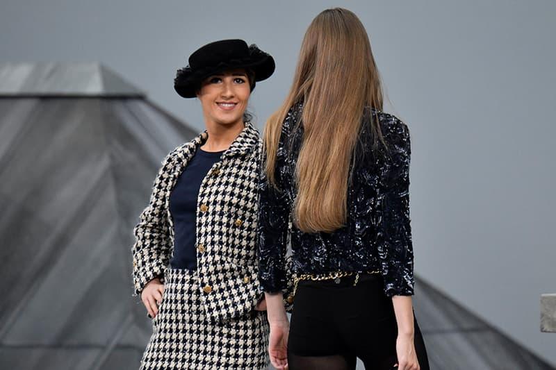 Chanel 2020 春夏時裝秀遭到台下觀眾強行闖入