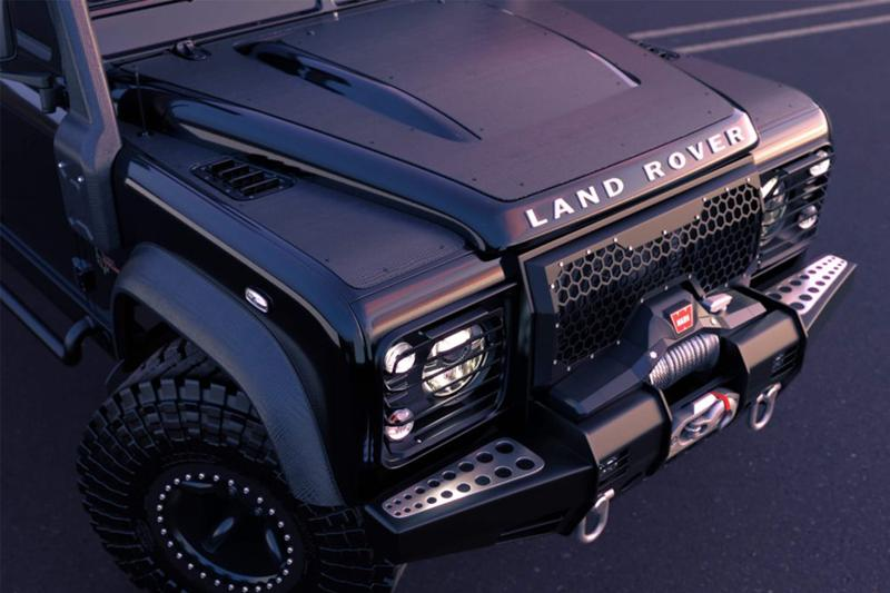 Classic Overland 打造 Land Rover Defender 6x6「Black Mamba」改裝車型