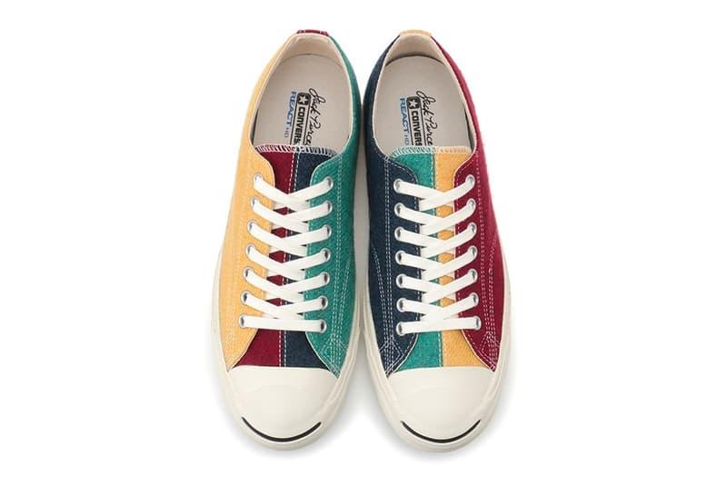 Converse Japan 全新羊毛面料 Jack Purcell 鞋款發佈