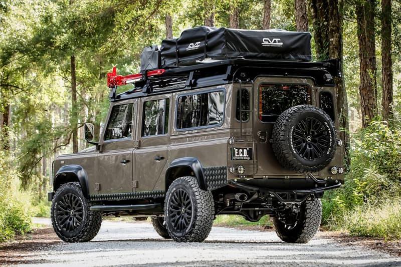 野營之王 − E.C.D. Automotive Design 打造 Land Rover Defender 改裝車型