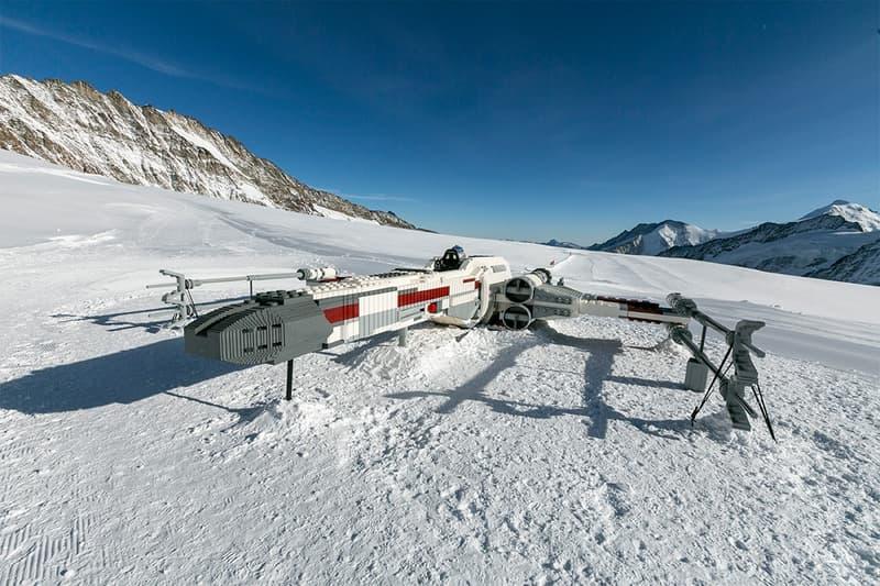 LEGO 為《Star Wars》打造全球唯一實際尺寸 X 翼戰機