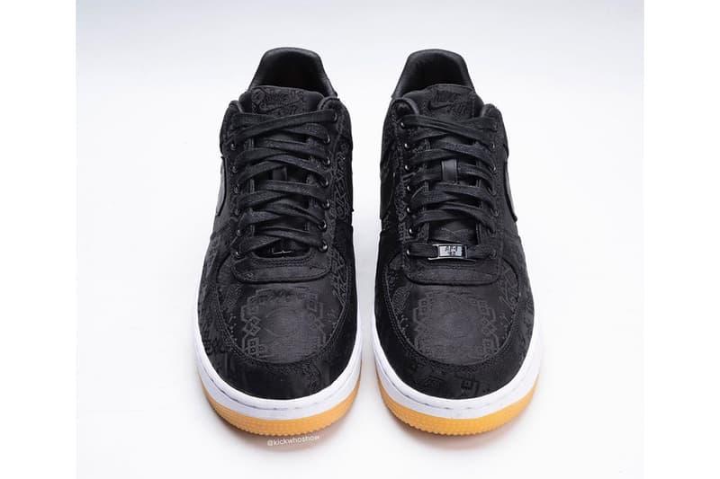 率先預覽 fragment design x CLOT x Nike 全新三方聯乘 Air Force 1