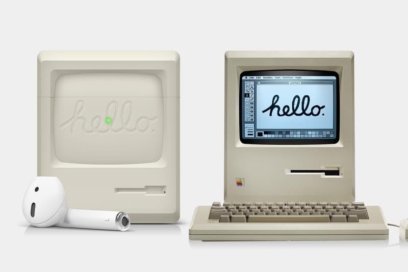 情懷不衰-設計公司 Elago 推出元祖 Apple Macintosh 外觀 AirPods 保護套