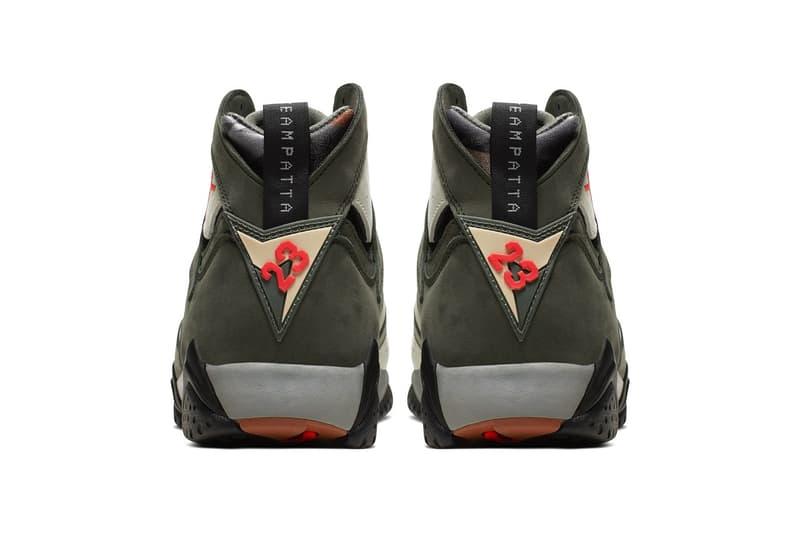 Patta x Air Jordan 7 別注「Icicle」配色上架情報公開