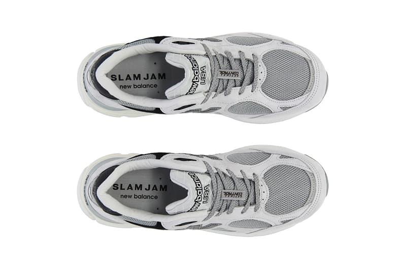 三十而立-Slam Jam x New Balance 限量別注 990v3 鞋款發佈