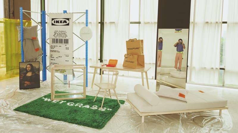 """千呼萬喚-IKEA x Virgil Abloh """"MARKERAD"""" 聯乘系列官方圖輯亮相"""