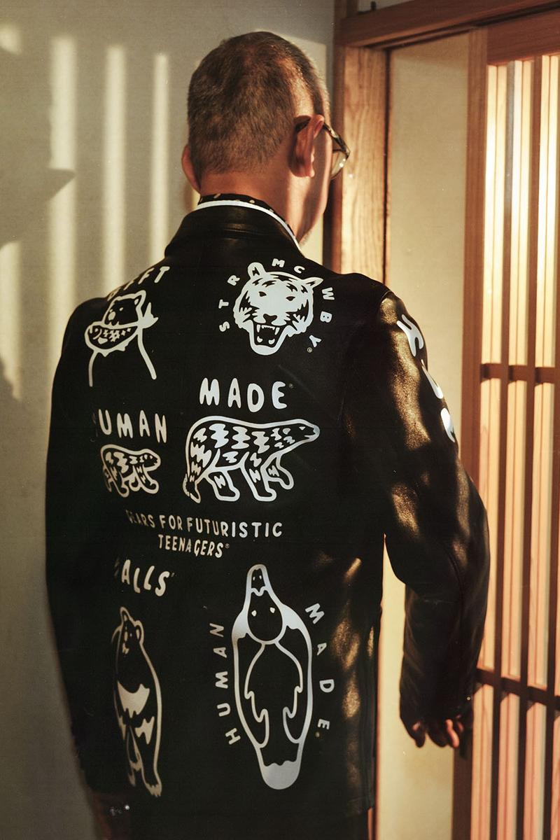 UNITED ARROWS 創業 30 周年-HUMAN MADE® for UA & SONS 推出聯名別注皮革外套
