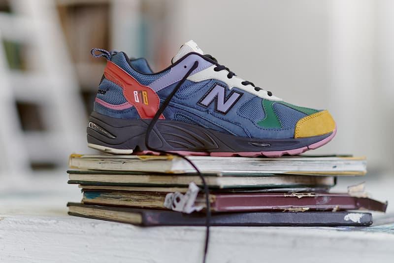 拼色美學-size? x New Balance 878 聯乘鞋款亮相