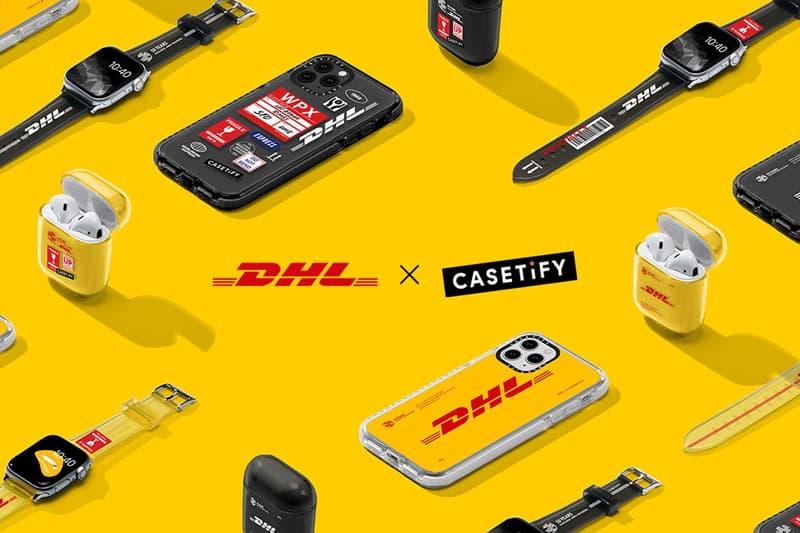 梅開二度-DHL 50 周年 x CASETiFY 攜手紀念別注