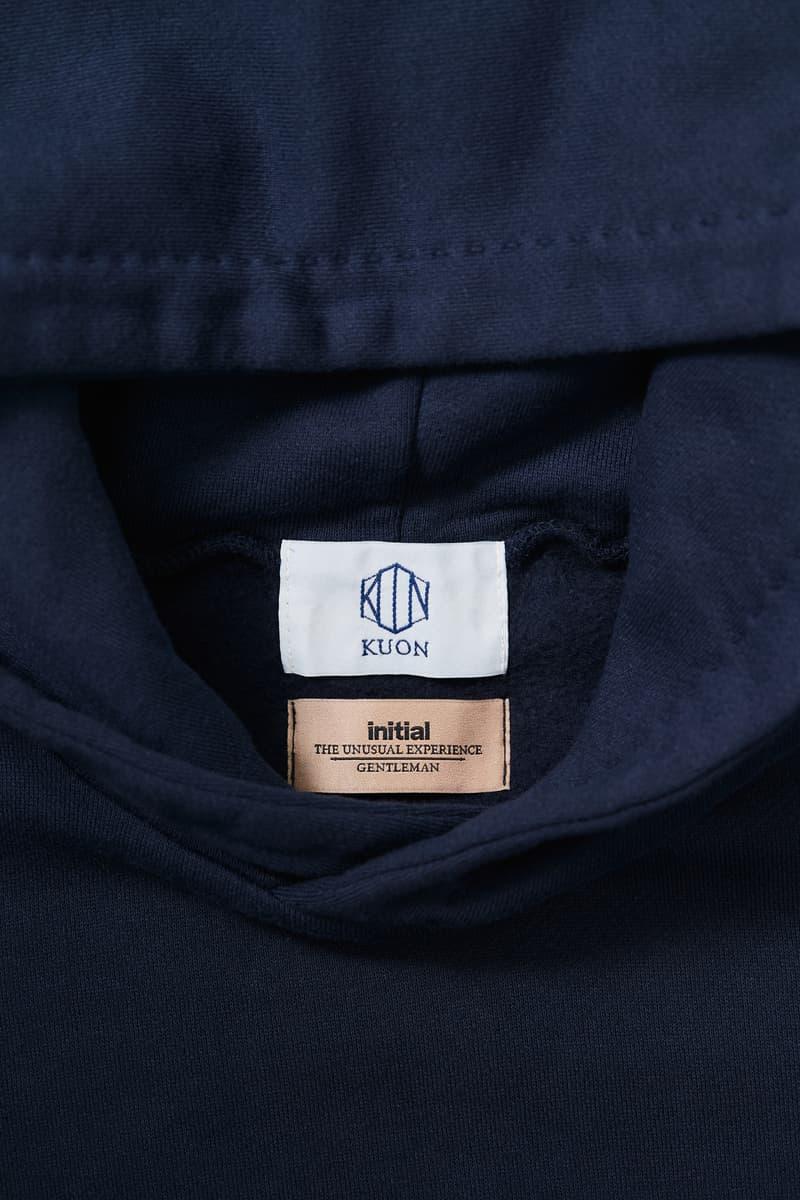 KUON x initial Gentleman 攜手別注古式拼布衛衣