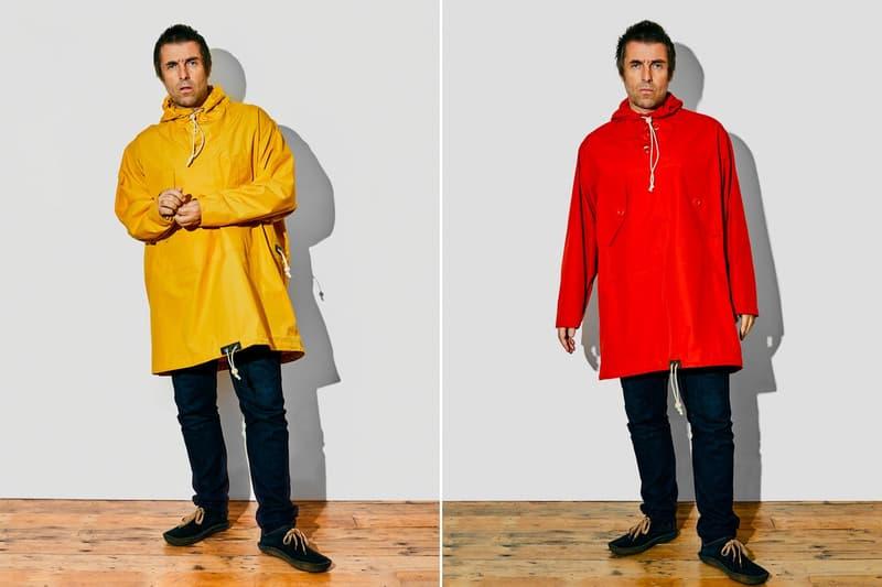 Oasis 主唱 Liam Gallagher 攜手 Nigel Cabourn 打造最新聯乘 Parka 系列