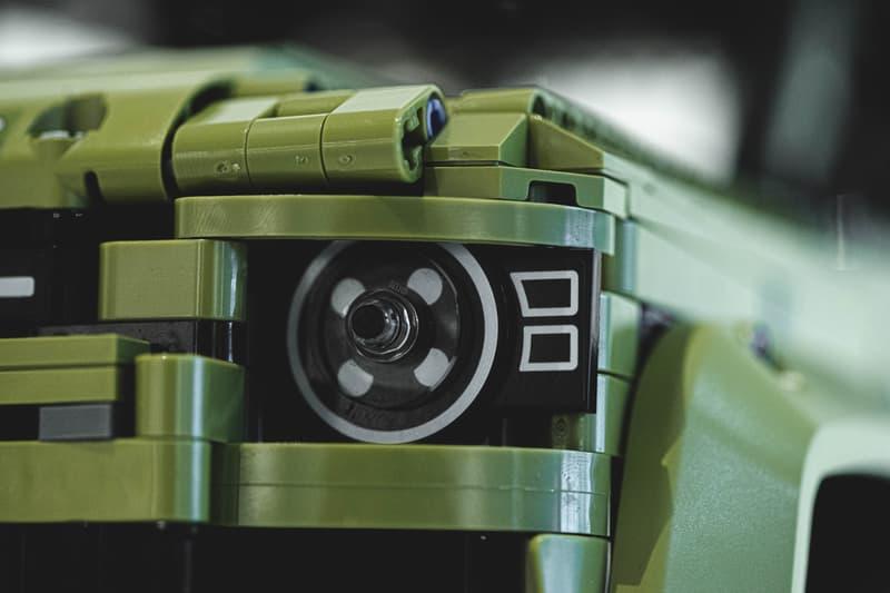 精細之機械構造-近賞 LEGO 新世代 Land Rover Defender 積木模型!
