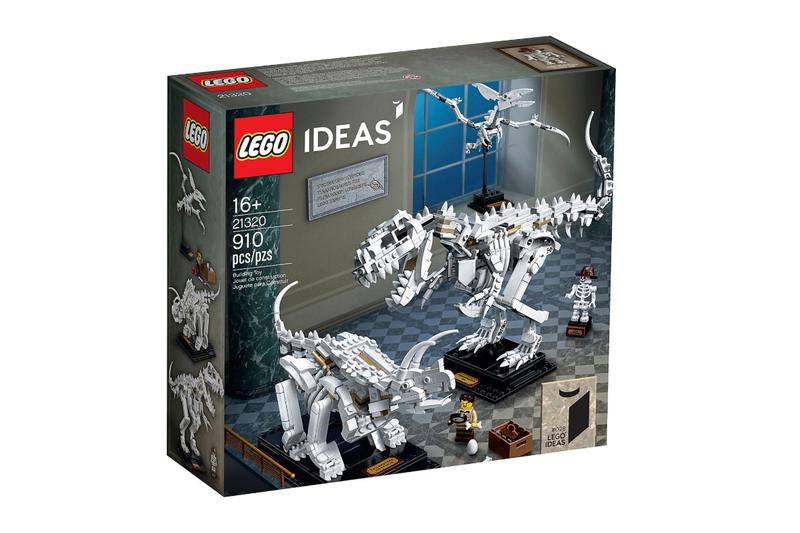 翻生侏羅館-LEGO 推出恐龍化石積木模型套裝