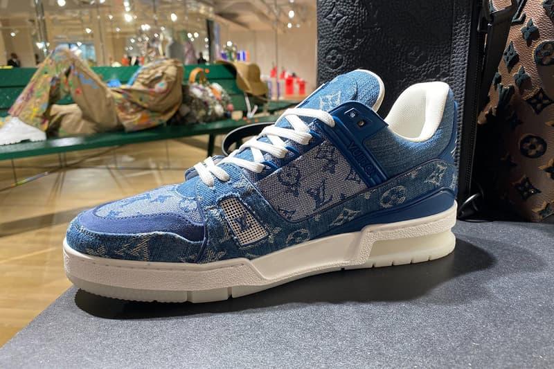 率先近賞 Louis Vuitton 2020 春夏全新 Monogram 藍色牛仔布 408 鞋款