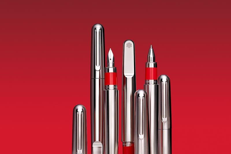 Montblanc 發佈全新紅色特別款旅行箱及 M 系列金屬特別款書寫工具