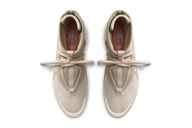 Nike Air Fear of God 1 全新配色「Oatmeal」官方圖輯正式發佈