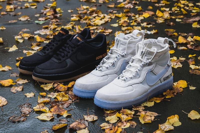HYPEBEAST 獨家近賞 Nike Air Force 1 High & Low「GORE-TEX」最新機能鞋款