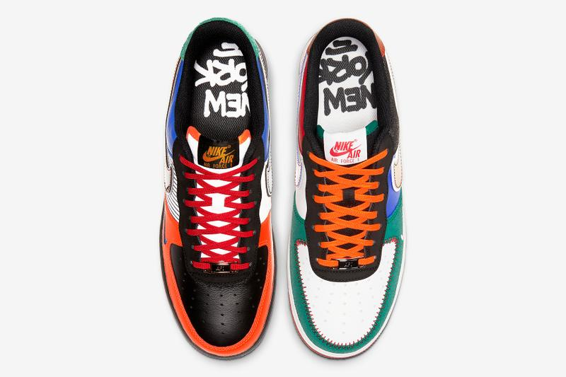 Nike Air Force 1「What The NY」配色鞋款登場