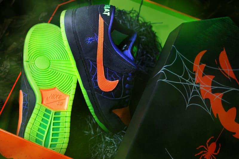 近賞 Nike SB Dunk Low Pro 萬聖節別注配色「Night of Mischief」