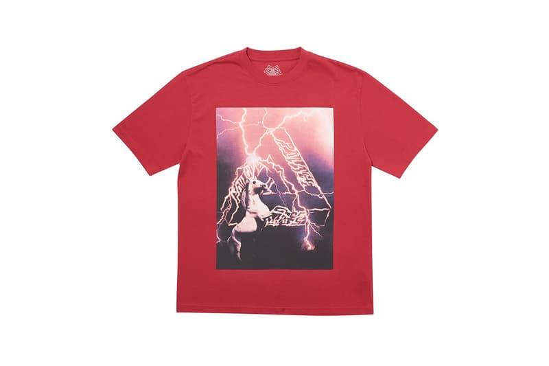 Palace 正式發佈 2019 冬季 T-Shirt 系列