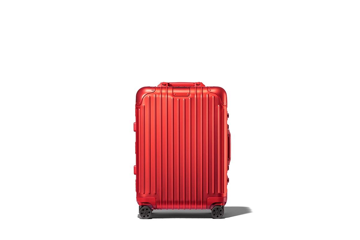 經典新銳-RIMOWA 鋁鎂合金行李箱系列奪目新色登場