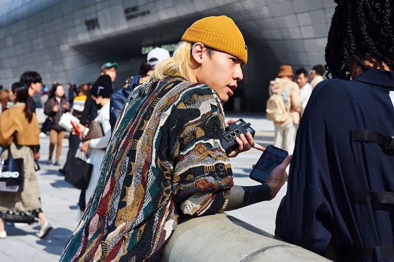 Street Style: 2020 春夏首爾時裝周街拍特輯
