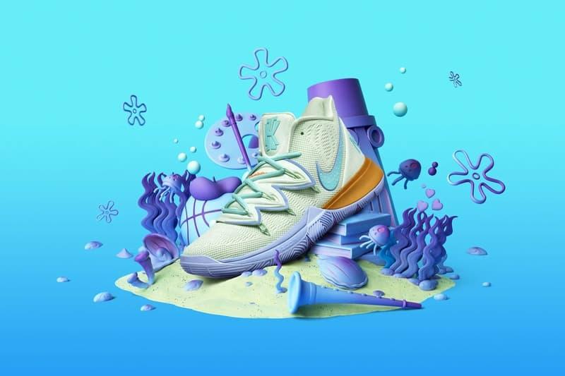 Spongebob Squarepants x Nike Kyrie 全系列即將再度補貨