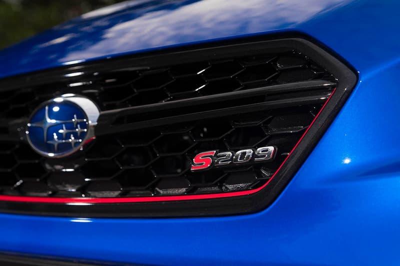 Subaru 限量車型 WRX STI S209 即將登陸北美開售