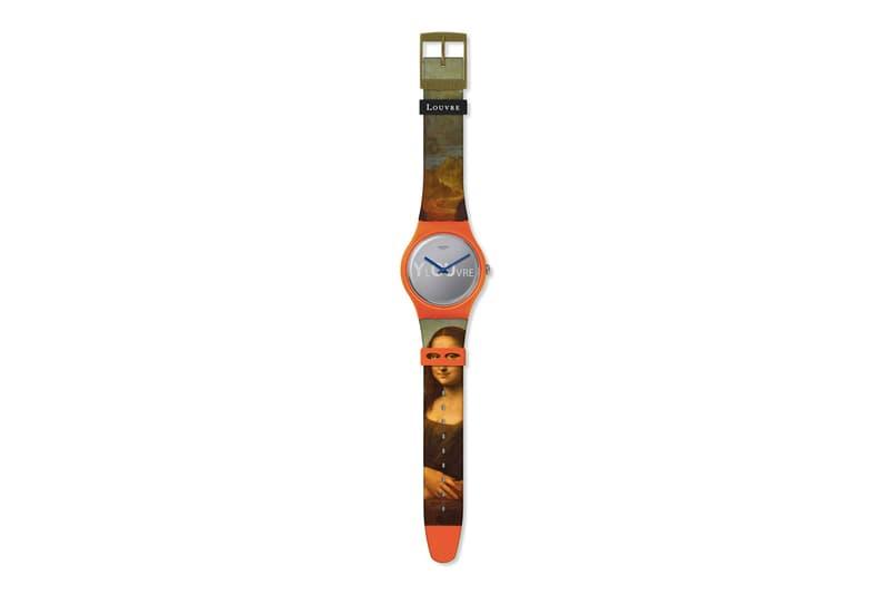 Swatch x Louvre 帶來 Leonardo da Vinci 舉世名作《蒙娜麗莎》別注版手錶
